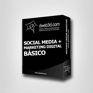 comprar paquete de social media + marketing digital básico